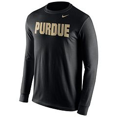 Men's Nike Purdue Boilermakers Wordmark Tee