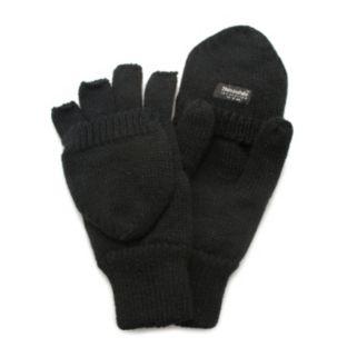 QuietWear Knit Convertible Flip-Top Mittens - Men