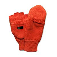 QuietWear Knit Convertible Flip-Top Mittens - Men