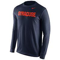 Men's Nike Syracuse Orange Wordmark Tee