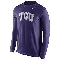 Men's Nike TCU Horned Frogs Wordmark Tee