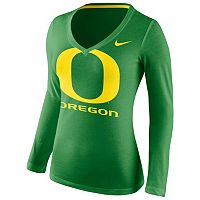 Women's Nike Oregon Ducks Wordmark Tee
