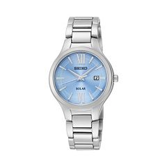 Seiko Women's Stainless Steel Solar Watch - SUT209