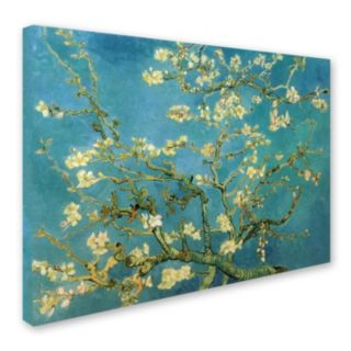 ''Almond Branches in Bloom'' Canvas Wall Art by Vincent van Gogh