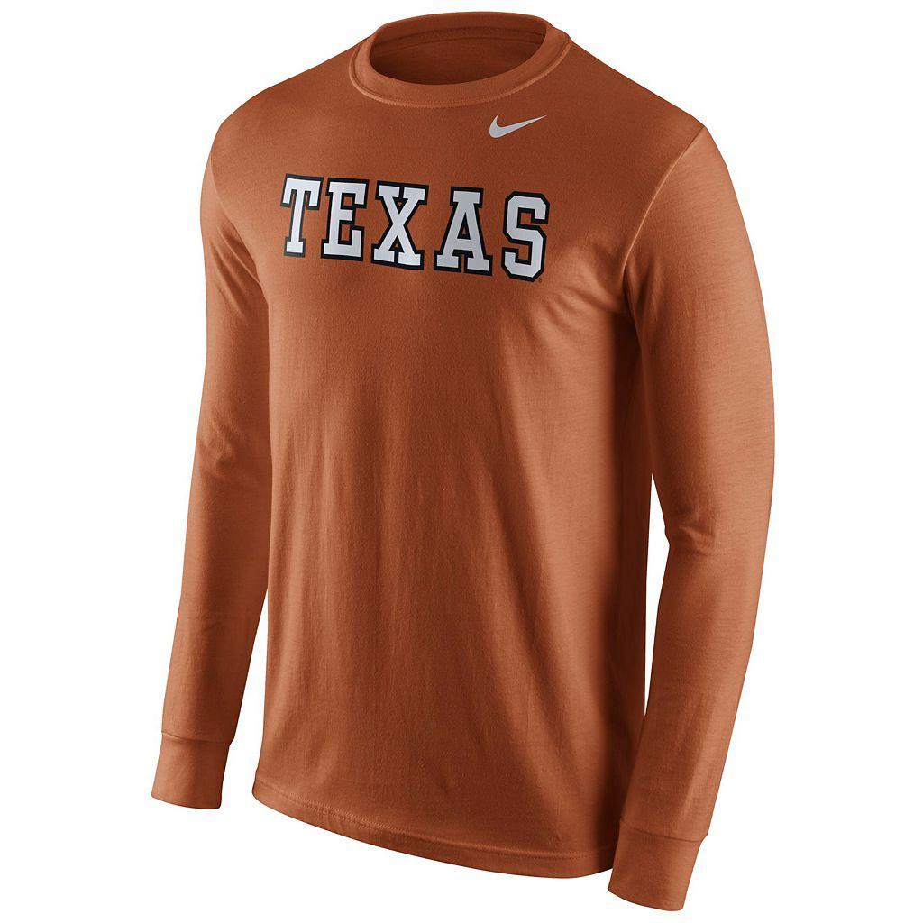 Men's Nike Texas Longhorns Wordmark Tee