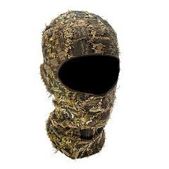 QuietWear Camo Grassy One-Hole Mask - Men