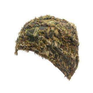 QuietWear Fleece-Lined Camo Grass Beanie - Men