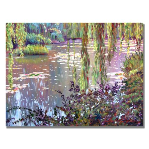 """Homage to Monet"" Canvas Wall Art"