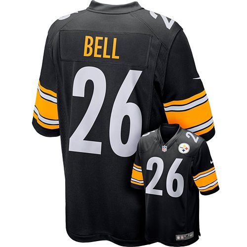 8cb69c55f74 Nike Men's Pittsburgh Steelers Le'Veon Bell Game NFL Replica Jersey