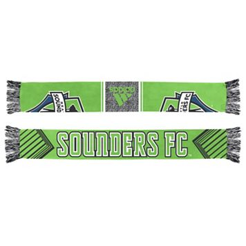 Adult adidas Seattle Sounders Authentic Draft Scarf