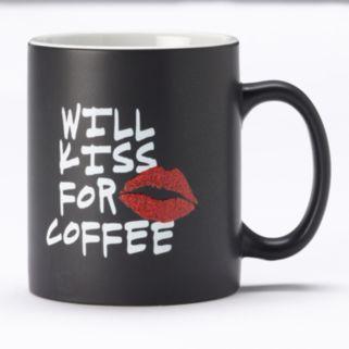 """""""Kiss for Coffee"""" 14-oz. Coffee Mug"""