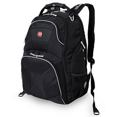 Swiss Gear ScanSmart 15-inch Black Laptop Backpack