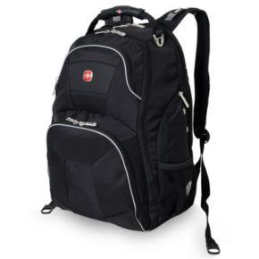 Swiss Gear ScanSmart 15-inch Black Laptop Backpack