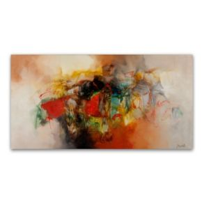 """Abstract VI"" Canvas Wall Art"