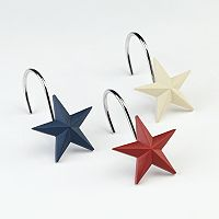 Texas Star 12-pk. Shower Curtain Hooks