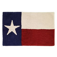 Texas Star Bath Rug
