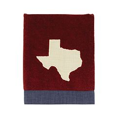 Texas Star Appliqued Hand Towel