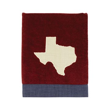 Texas Star Appliqued Hand Towel