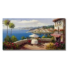 'Italian Afternoon' Canvas Wall Art