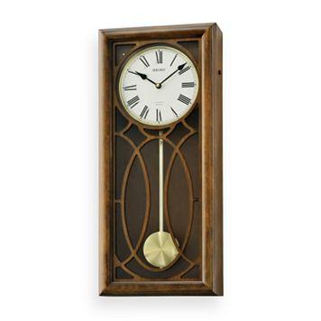 Seiko Greyson Wood Musical Wall Clock - QXM343BLH