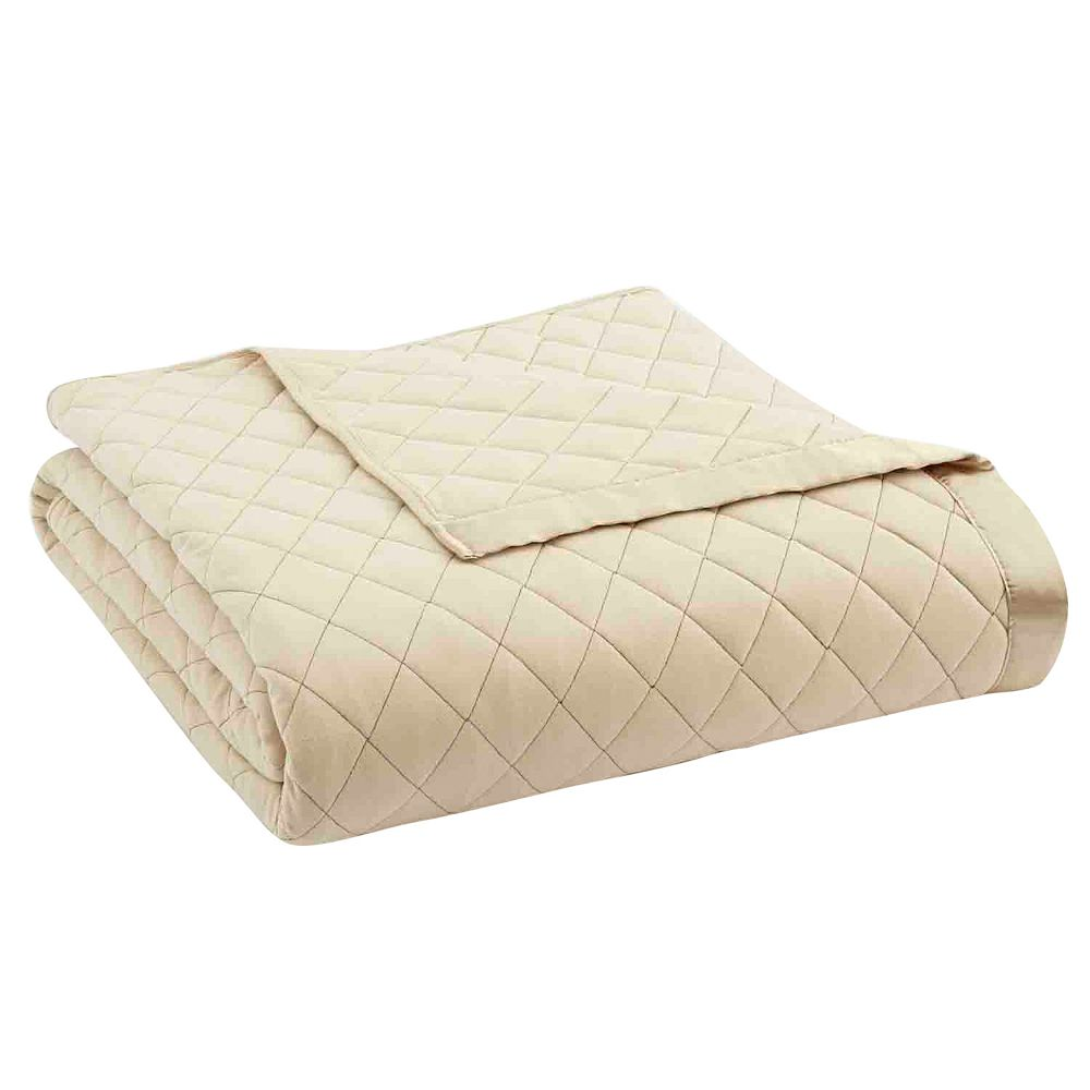 Micro Flannel® Quilted Reversible Blanket