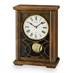 Seiko Albany Wood Musical Mantel Clock - QXW236BLH