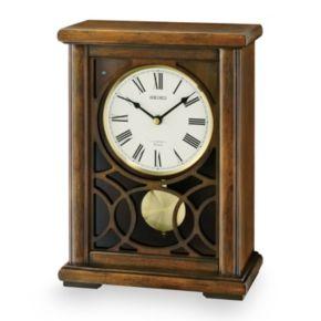Seiko Albany Wood Musical Mantel Clock - QXW236BLH