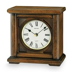 Seiko Austen Wood Musical Desk Clock - QXW237BLH