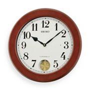 Seiko Dillon Wood Musical Wall Clock - QXM548BLH