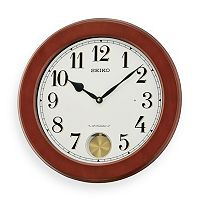 Seiko Dillon Wood Musical Wall Clock - QXM548BLH