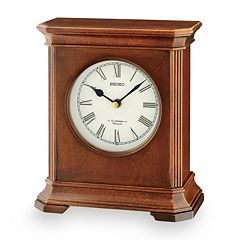 Seiko Blanche Wood Musical Desk Clock - QXW238BLH