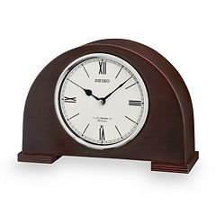 Seiko Branwen Wood Musical Desk Clock - QXW239BLH