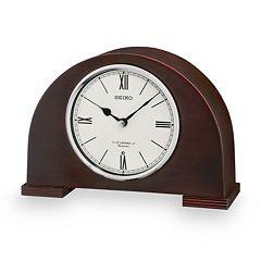 Seiko Branwen Wood Musical Desk Clock - QXW239BLH