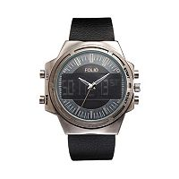 Folio Men's Analog-Digital Watch
