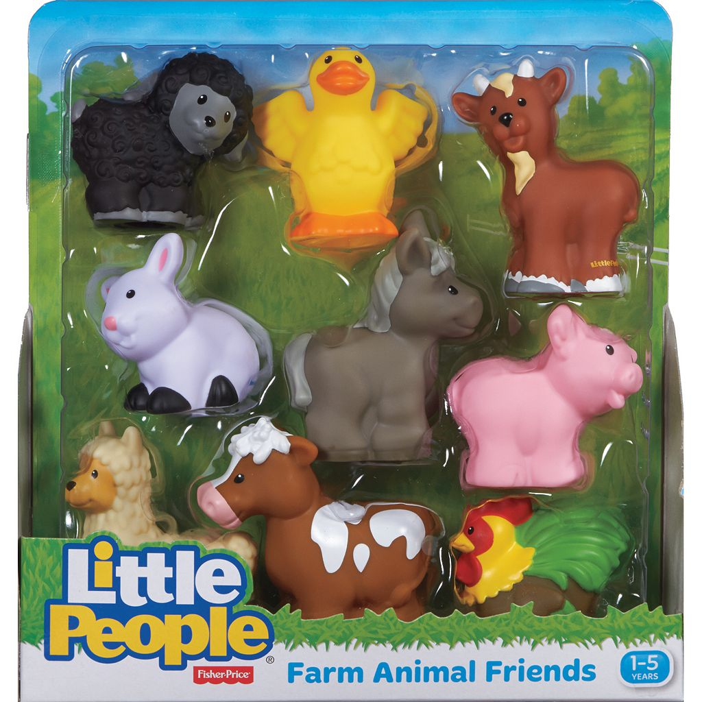 Fisher-Price Little People Farm Animal Friends Set