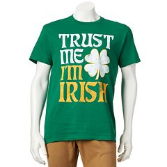 'Trust Me I'm Irish' Tee - Men
