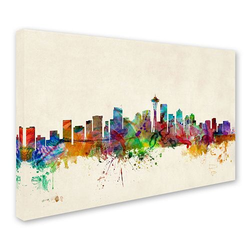 Seattle Washington Canvas Wall Art