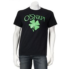 'On Tap!' Shamrock Tee - Men