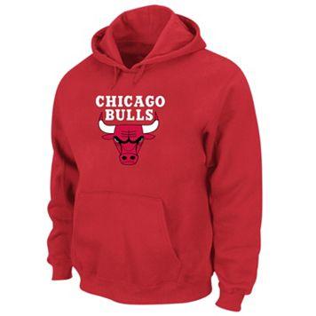 Big & Tall Chicago Bulls Pullover Fleece Hoodie