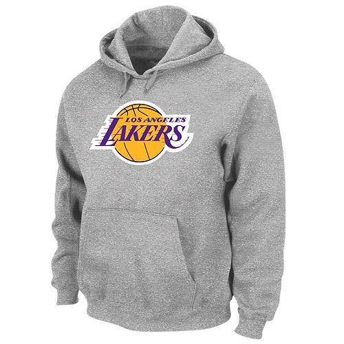 8e56a2e91 Big   Tall Los Angeles Lakers Pullover Fleece Hoodie