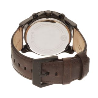 Relic Men's Colby Leather Watch