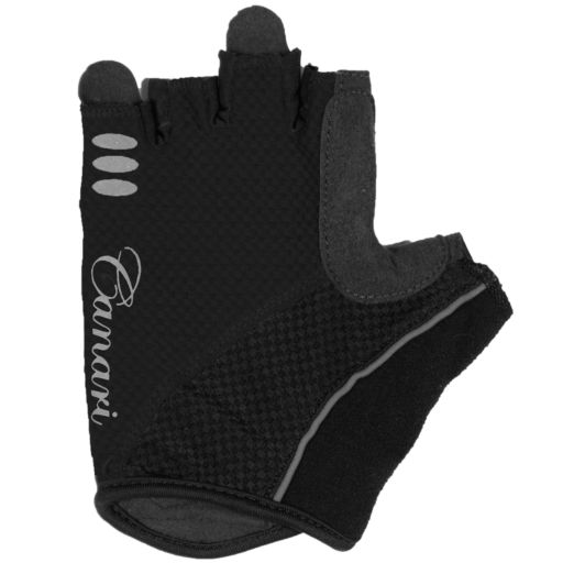 Women's Canari Aurora Fingerless Cycling Gloves