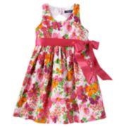 Chaps Floral Dress - Girls 4-6x