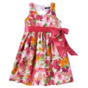 Chaps Floral Dress - Toddler Girl