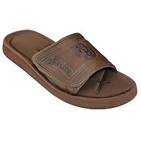 Adult Baylor Bears Memory Foam Slide Sandals