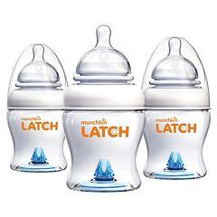 Munchkin Latch 3-pk. 4-oz. Bottles by