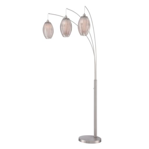 Lotuz 3-Light Arch Lamp