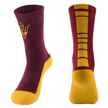 Men's Mojo Arizona State Sun Devils Champ 1/2-Cushion Performance Crew Socks
