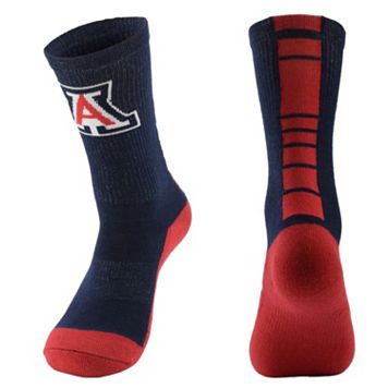 Men's Mojo Arizona Wildcats Champ 1/2-Cushion Performance Crew Socks
