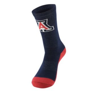 Men's Mojo Arizona Wildcats Champ 1/2-Cushion Performance Crew Socks